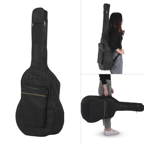 40/41 polegadas mochila de saco de guitarra acústica