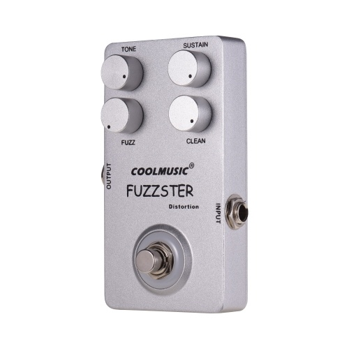 COOL MUSIC C-FC1 Fuzzster Distortion Pedal de efecto de guitarra