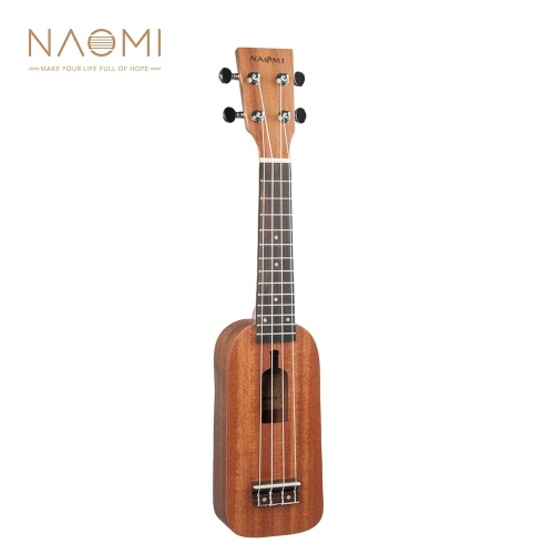 NAOMI 21 Inch Ukulele Bottle Design Sapele Topboard