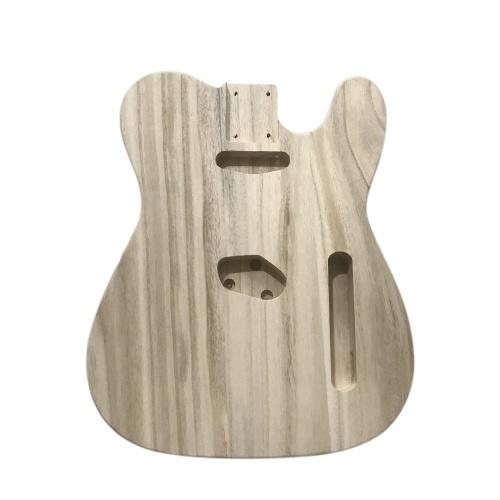 ポリッシュウッドタイプエレキギターバレルDIYエレクトリックメープルギターバレルボディ用TLスタイルギター