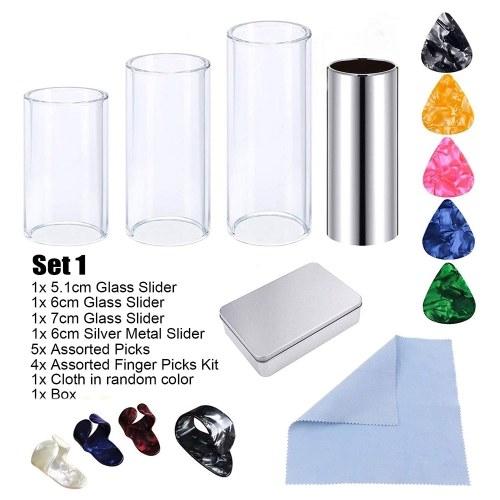 Couvercle de doigt de choix de curseur en métal de verre