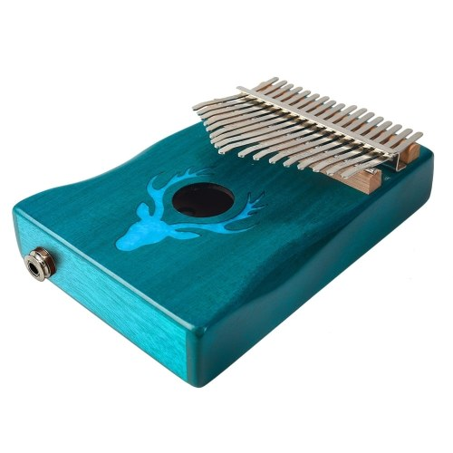 17 Keys Electric Kalimba Thumb Piano Set