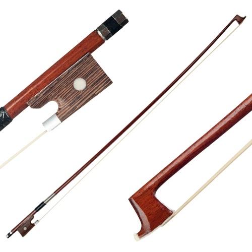 初心者向け3/4バイオリンフィドルボウ無垢材丸棒