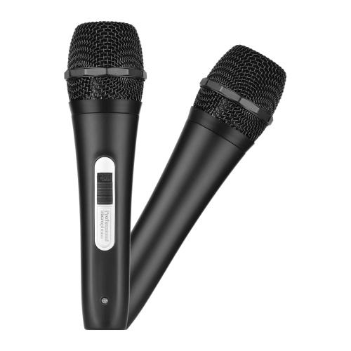 Câble de microphone dynamique filaire à main pour microphone XLR 6,35 mm