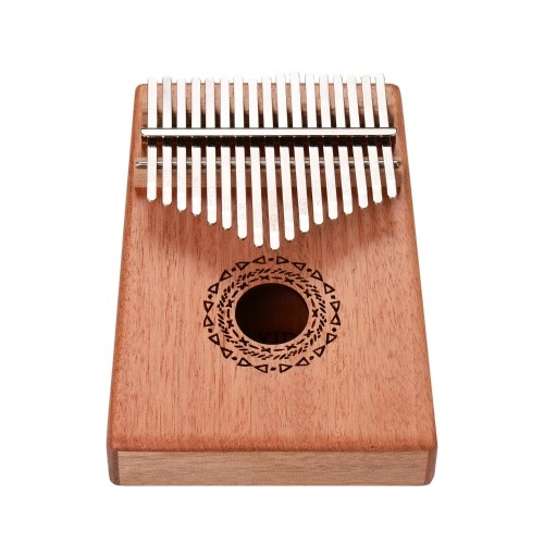 (Starry sky)17 Keys Kalimba Thumb Piano Rosewood Panel with Carry Bag Key Stickers Tuner Hammer Cleaning Cloth
