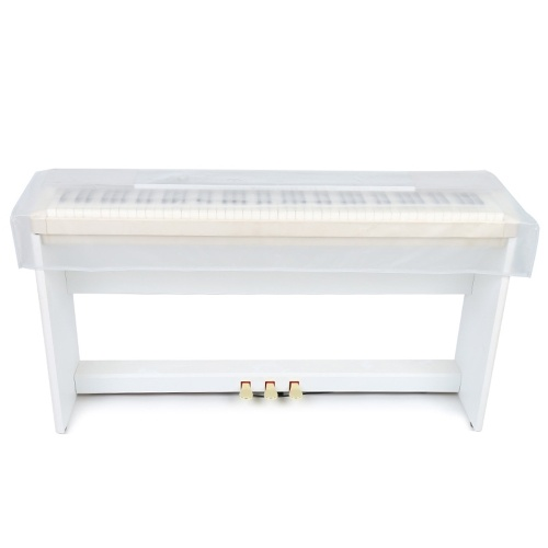 Transparent Grind Arenaceous Piano Cover Digital Piano Keyboard Dustproof and Waterproof Cover