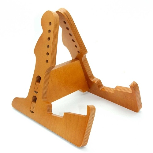 Support de guitare en bois massif Portable Bess Ukulele Guitar Fitting