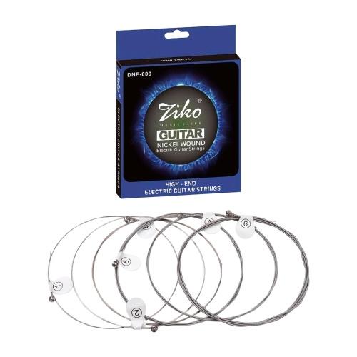 Струны для электрогитары Hexagon Alloy Wire Nickel Wound Bright Corrosion Resistant 6 Strings Set (.009-.042) Extra Light Special