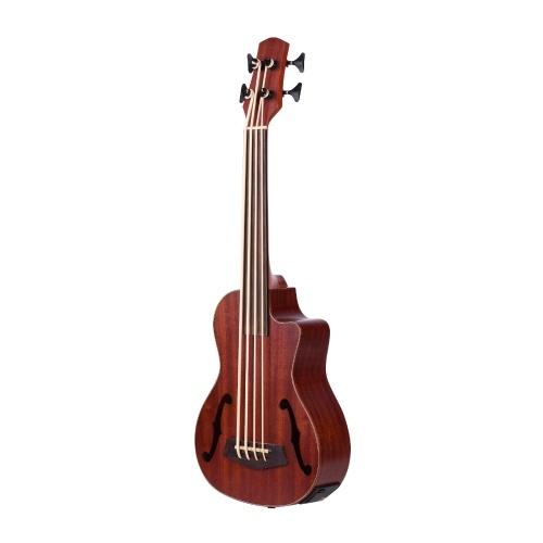 30 Zoll Cutaway U-Bass UBass Holz Akustische Bass Ukulele aus Holz