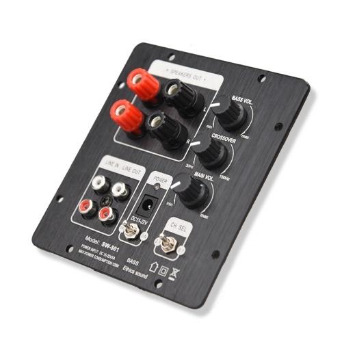 Multifunktionale 2.1 Subwoofer-Lautsprecherverstärkerplatine ohne BT-Funktion