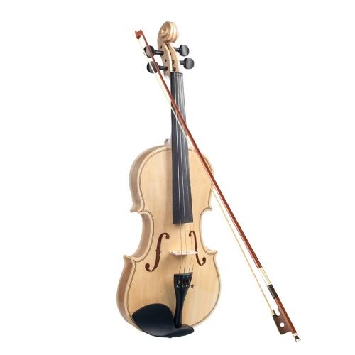 Panneau en bois d'érable 4/4 pour violon Panneau arrière en tilleul