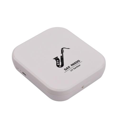 Tragbare Musikinstrumentenblätter UV-Desinfektions-Desinfektionsbox UV-Sterilisationsblätter UV-Sterilisator für Saxophonklarinetten-Blasinstrumentenblätter
