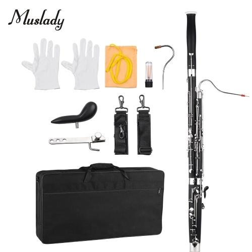Instrument à vent Muslady Professional C Key Basson
