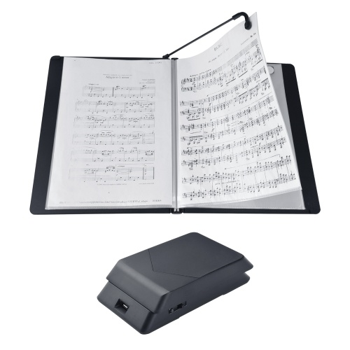 Meideal MAF-20 Automatic Music Book Page Turning Machine Wireless Page Turner with A4 Size Music Paper Holder