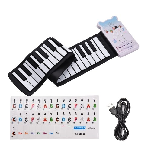 Clavier de piano électronique portable à 49 touches