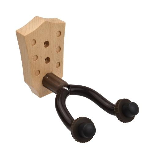 Настенная вешалка для гитары из бука