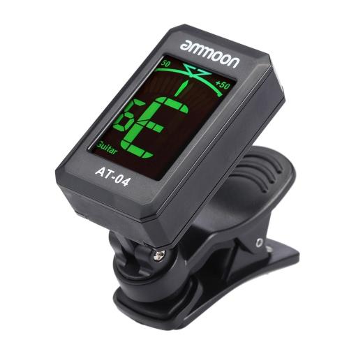 Rowin LT-20クリップオン自動デジタル電子LCDチューナー
