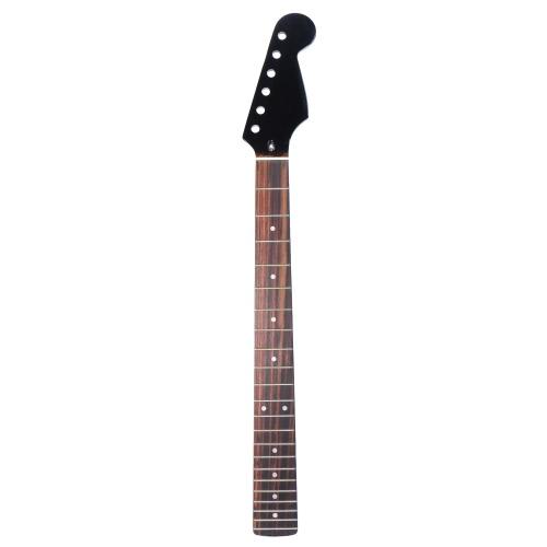 絶妙な光沢22フレッツ新しい置換メープルネックローズウッドフレットボードフィンガーボードフェンダーSTストラットエレクトリックギター用