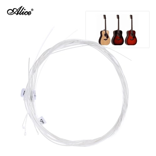 Alice AC130-H Nylon Classical Guitar Strings 6pcs/set (.0285-.044) Hard Tension