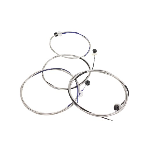 Full Set (G-D-A-E) Double Bass String Strings Steel Core Nickel Chromium Wound Ball End