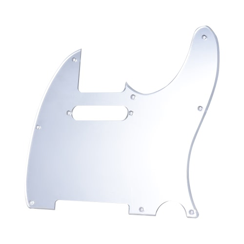 Mirror Acrylic Pickguard Pick Guard for Fender Telecaster Standard Modern Style Electric Guitar