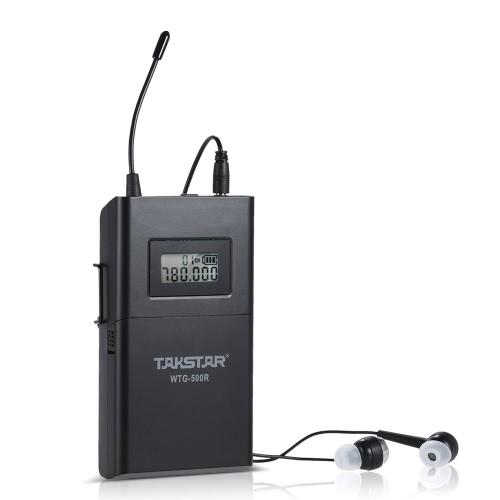 TAKSTAR WTG-500R UHFワイヤレス音響送信レシーバー