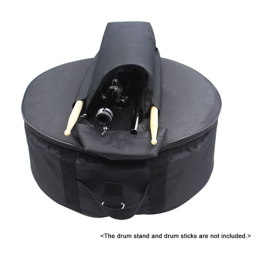 Durable 14 Zoll Snare Drum-Beutel-Rucksack Tasche mit Schulterriemen Außentaschen