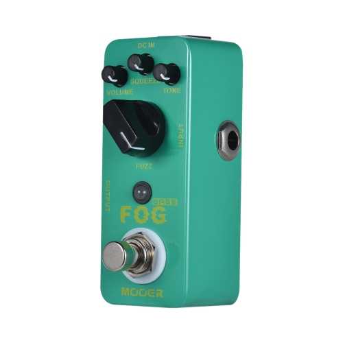 MOOER FOG Bass Fuzz Guitar Pedał efektów True Bypass Full Metal Shell