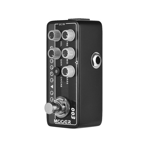 MOOER MICRO PREAMP Series 003 Power-Zone American-style High Gain Digital Preamp Preamplifier Guitar Effect Pedal True Bypass