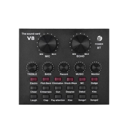 Externe Audio Mixing Soundkarte USB Audio Interface