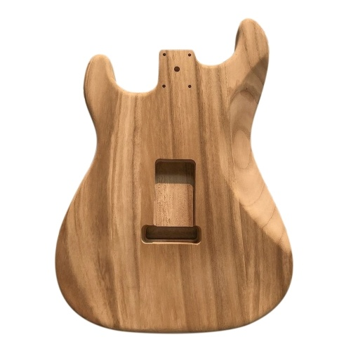 ポリッシュウッドタイプエレクトリックメイプルギターバレルボディ未完成のエレキギターバレル