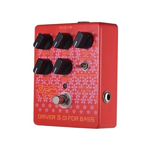 Caline CP-59 Press Pass Red Гитары с педалями эффектов
