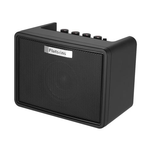 Amplificador portátil para guitarra de escritorio 3W Guitarra eléctrica Mini modelado Amp