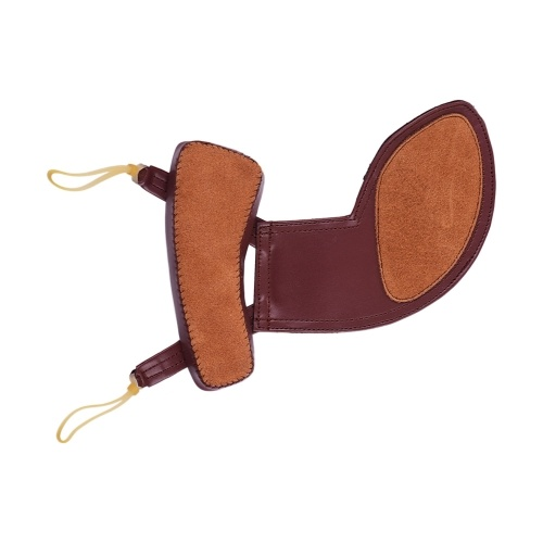 Sheepskin Pad Violin Accessories Shoulder and Chin Rest Cushion