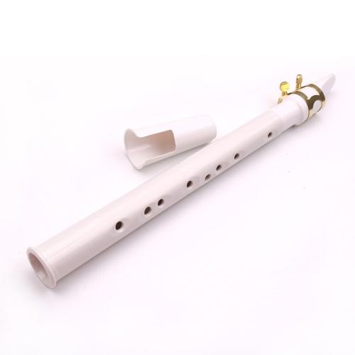 Sassofono portatile Mini Saxofono portatile Piccolo sassofono con borsa per il trasporto Strumento a fiato