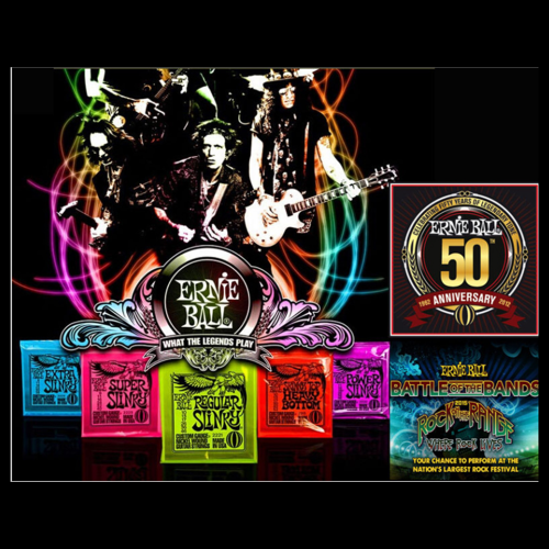 Wound Electric Guitar Strings
