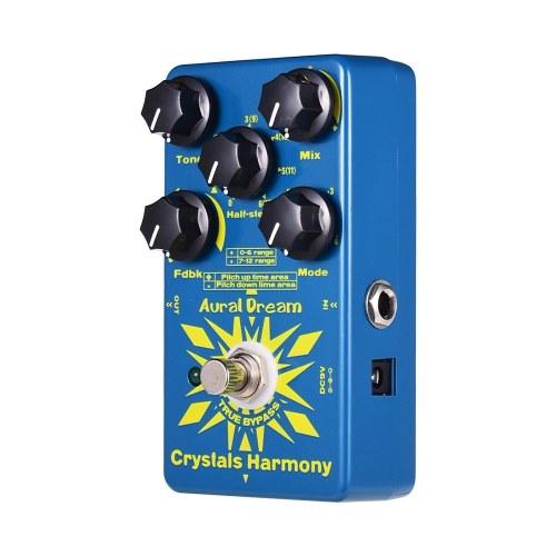 Aural Dream Crystals Harmony Педаль эффектов цифровой гитары Создание эффектов кристаллических частиц True Bypass Single Effects фото