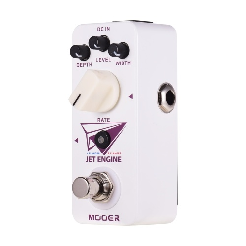 Mooer Jet Engine Digital Multi-Frequency Flanger Pedal Electric Guitar Effect Pedal True Bypass Micro Series Compact Pedal