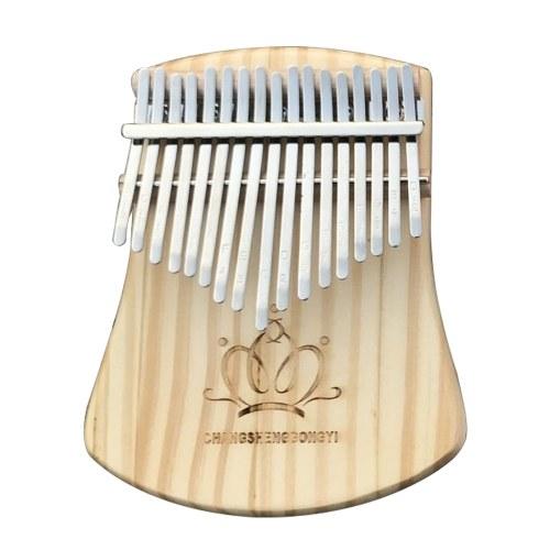 17 клавиш калимба африканский твердый палец пальца пианино дерево калимба портативный музыкальный инструмент фото