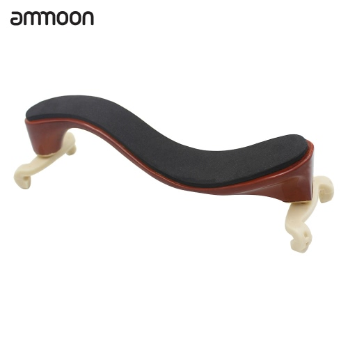 ammoon ヴァイオリン肩残りカエデ材 3/4 4/4 ヴァイオリン バイオリン クリーニング クロス付き