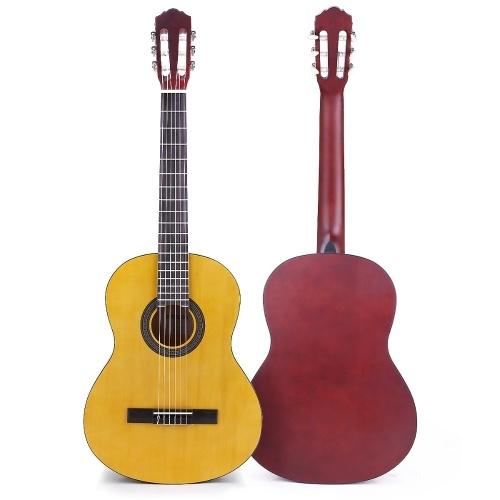 ammoon CG-12 39-дюймовая акустическая классическая гитара