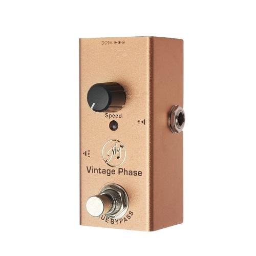 Pédale d'effet guitare Vintage Phase Mini pédale simple