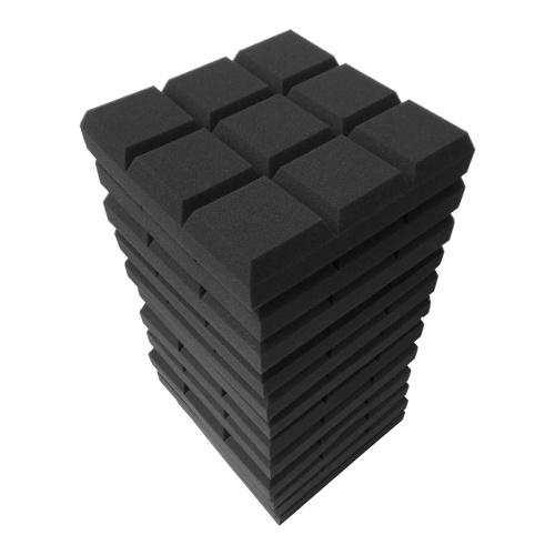 12pcs 12 * 12 * 2inch Studio Acoustic Foam Panel Звукоизоляционная пена