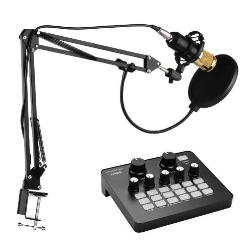 Professionelles Broadcasting Studio Aufnahme-Kondensatormikrofon-Kit