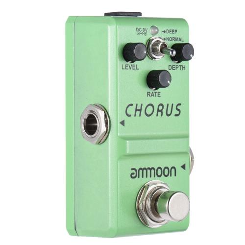 Effetto chitarra ammoon Nano serie pedale analogico Coro corpo True Bypass in lega di alluminio