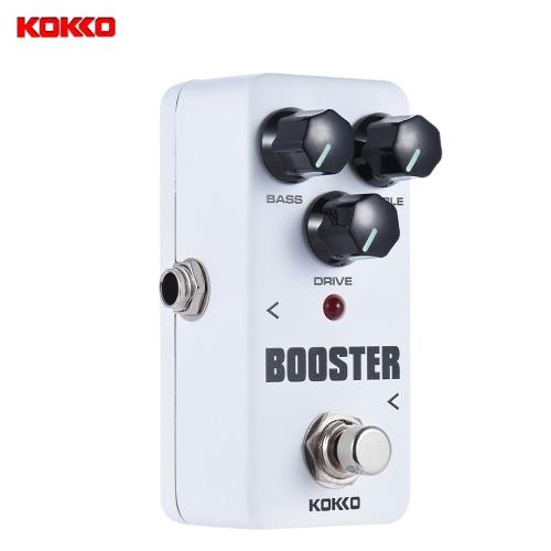 KOKKO FBS2 Mini Booster Pedal Portable 2-Band EQ Guitar Effect Pedal