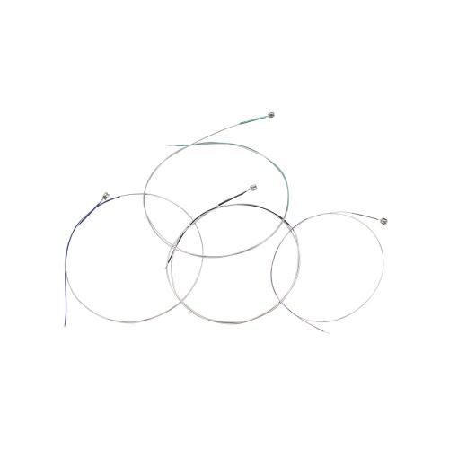 Uniwersalny Pełny zestaw (EADG) Skrzypce Skrzypce String Strings Stalowy rdzeń Nikiel Chrom Wound Ball End