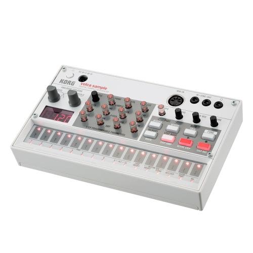 KORG VOLCA SAMPLE Tragbare Digital Sample Sequencer Synthesizer Wiedergabe Rhythmus Maschine