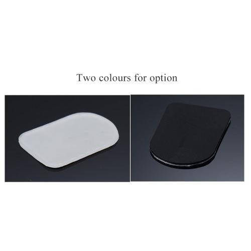 8本のBbクラリネット/ソプラノサックスサックスマウスピースパッチパッドクッションはシリコーン材料の厚さ0.3ミリメートル