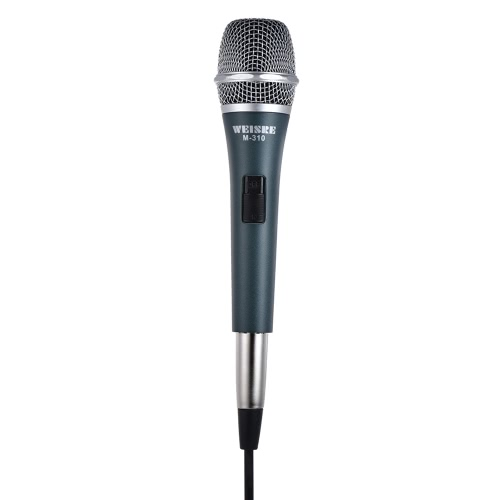 Professional Dynamic Moving-coil Vocal Handheld Microphone Cardioid with 13ft XLR-to-1/4